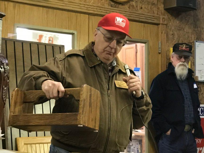 Mike Pleso – Trays from scrap white oak