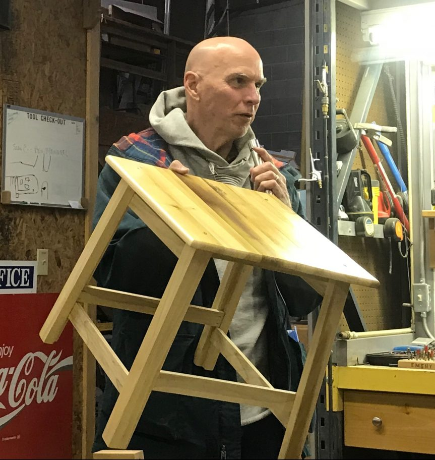 Bob McElfresh – End Table/Foot Stool
