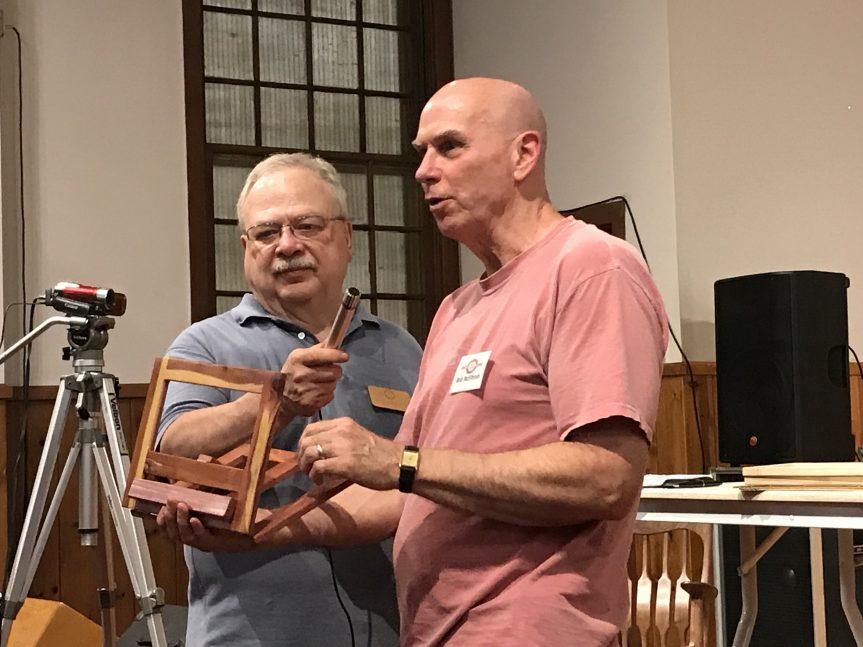 Wooden Tablet Frame